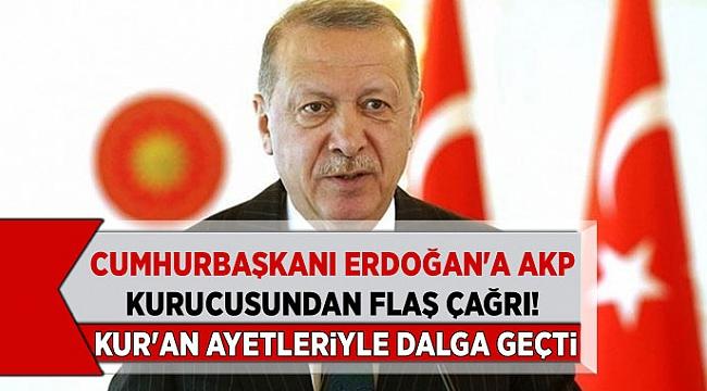 Cumhurbaşkanı Erdoğan'a AKP kurucusundan flaş çağrı! Egemen Bağış aklıma geldikçe içim yanıyor