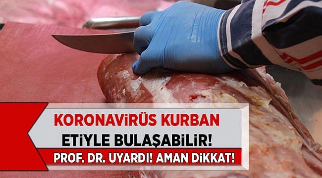 Bilim Kurulu Üyesi Tevfik Özlü Uyardı! Koronavirüs Kurban Etiyle Bulaşabilir