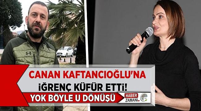 Önce Canan Kaftancıoğlu'na iğrenç küfürler etti! Sonra Başka kullanıcıları şikayet etti