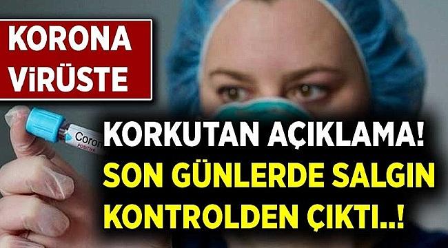 Salgın Kontrolden Çıktı! İl il Yerine Tüm Türkiye'de Önlem Alınmalı
