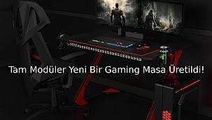 Oyuncular İçin Yeni Bir Oyuncu Masası Üretildi. Xrocg Gaming Gator